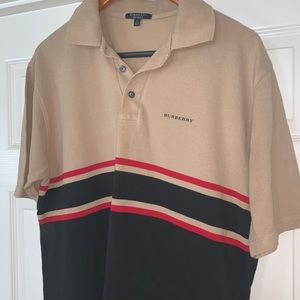 Sold///Burberry polo shirt